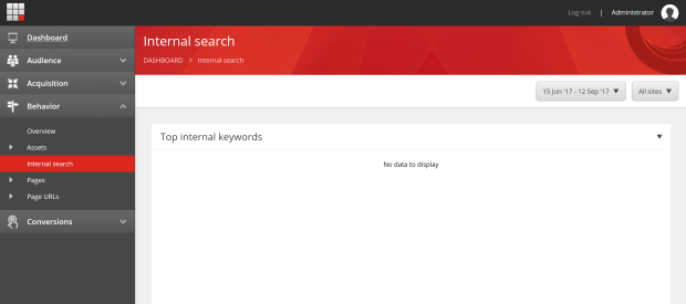 Internal Search Report