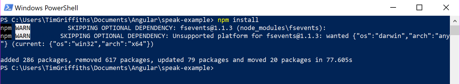 1 - Install NPM Packages